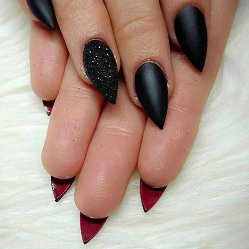Short Pointy Nails