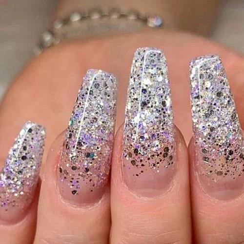 Glitter Ombre Nail Designs