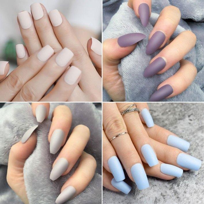 Matte Nail Colors