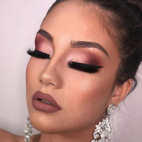 Prom Makeup Ideas For Brown and Hazel Eyes