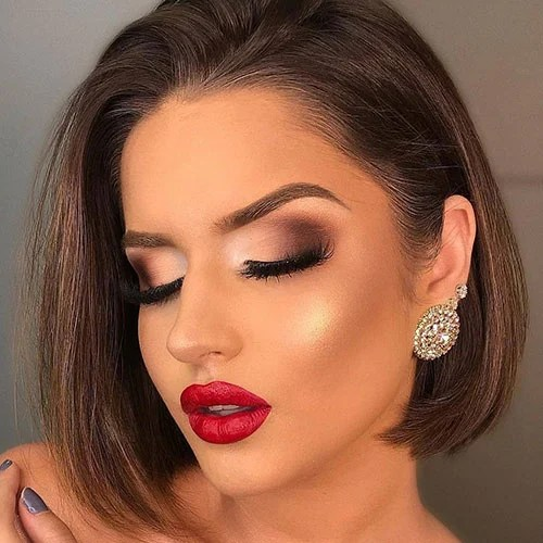 Prom Makeup Ideas For Red Dress