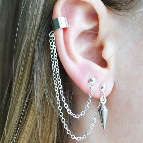 Cool Double Ear Piercing