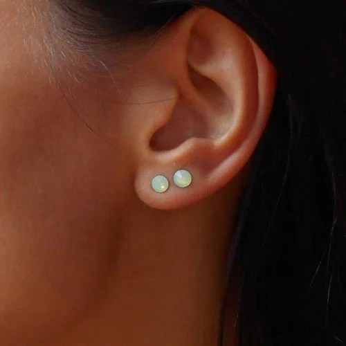 Double Ear Piercings