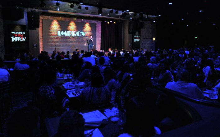 Get Tickets To A Comedy Show For A Great First Date Idea