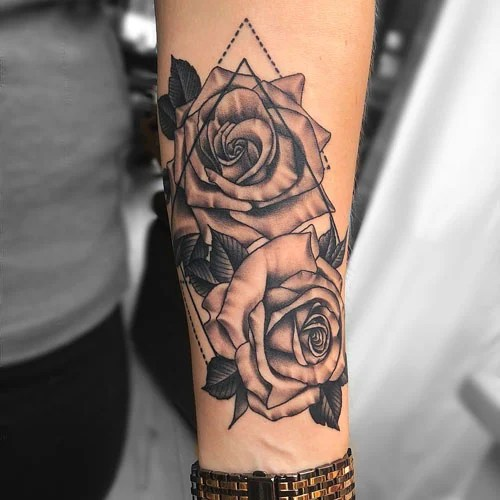 Cover Up Forearm Tattoo