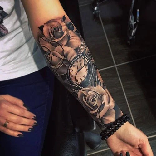 Forearm Sleeve Tattoos For Women