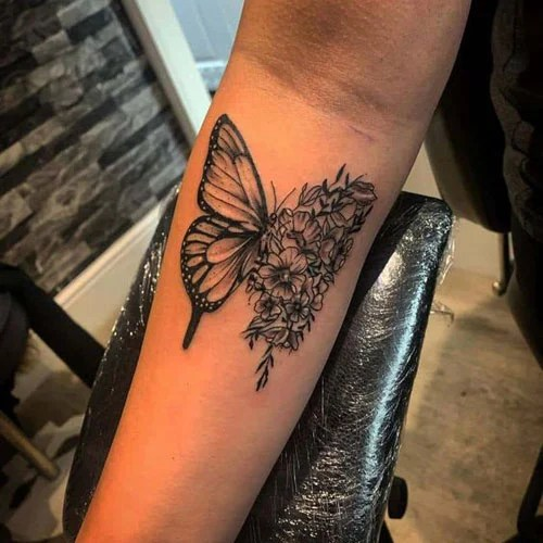 Inner Arm Tattoos For Women