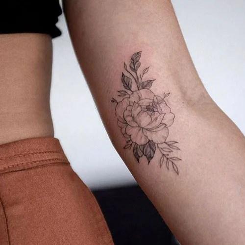 Simple Forearm Tattoo Women