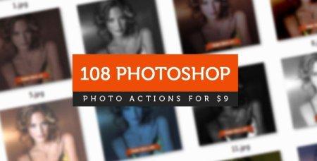 Download Our Massive Bundle of 108 Photoshop Actions! - Public Relations