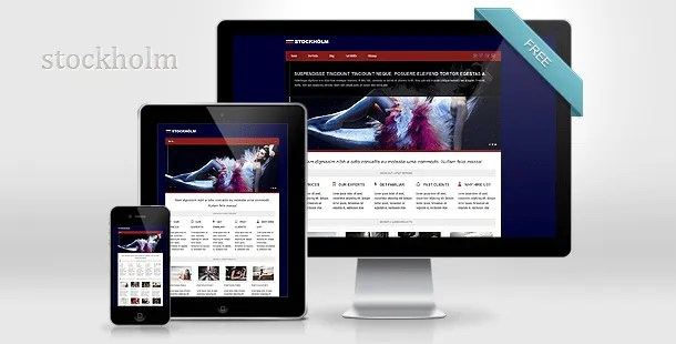 Download a New and FREE Responsive Wordpress Theme - Responsive web design
