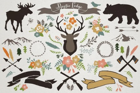 Bestselling Hand Drawn Vector Clipart Bundle With Over 1000 Files! -