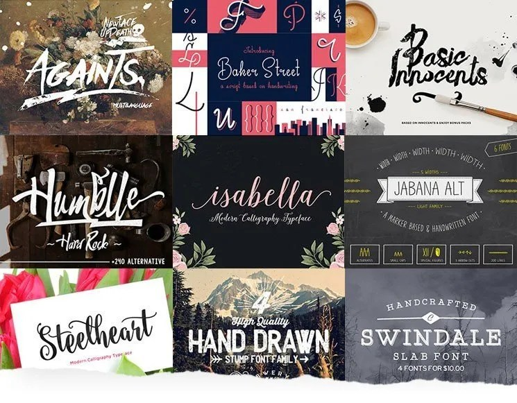 The Ultimate Collection of Top 100+ Fonts For Web Designers -