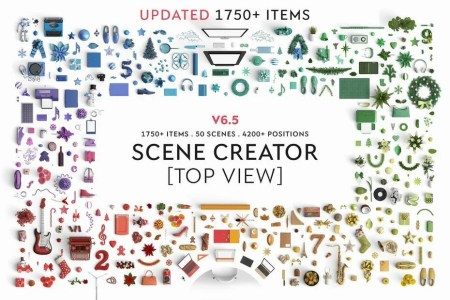 Finally A Mock Up Scene Creator With Top View Has Arrived -
