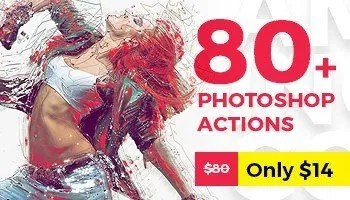 Grab ALL 80 Best Selling Photoshop Actions of 2017 - Only This Week! -