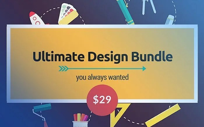 The Biggest Annual Essential Web Design Bundle – Only $29 - Graphic design