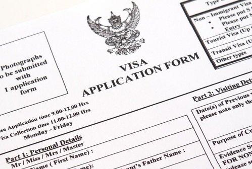 Image Result For Visa Application Form