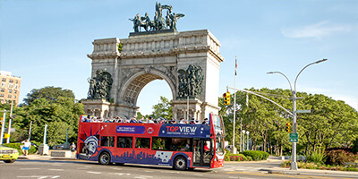 See The Brooklyn Sights From Our Double Decker Bus
