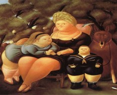 Oil Paintings Online- Exploring Botero's Artistry
