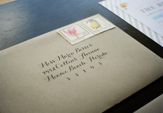 How To Address Bridal Shower Invitations