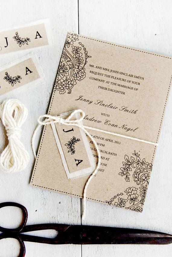 Decided On Diy Wedding Invitations