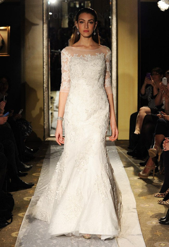 Oleg Cassini Fall 2014 Dress Collection