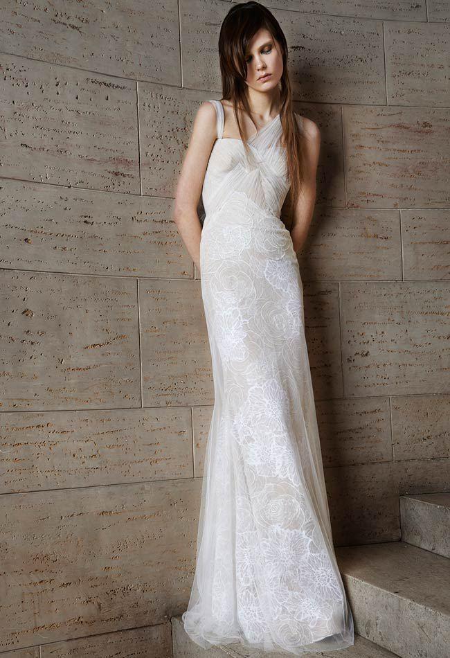 Vera Wang Spring 2015 Dress Collection