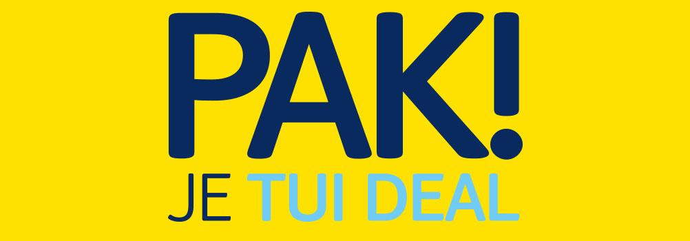 ☀ TUI PAK deals! Tot 200 euro extra korting! Actie loopt nog t/m 20 augustus! ☀