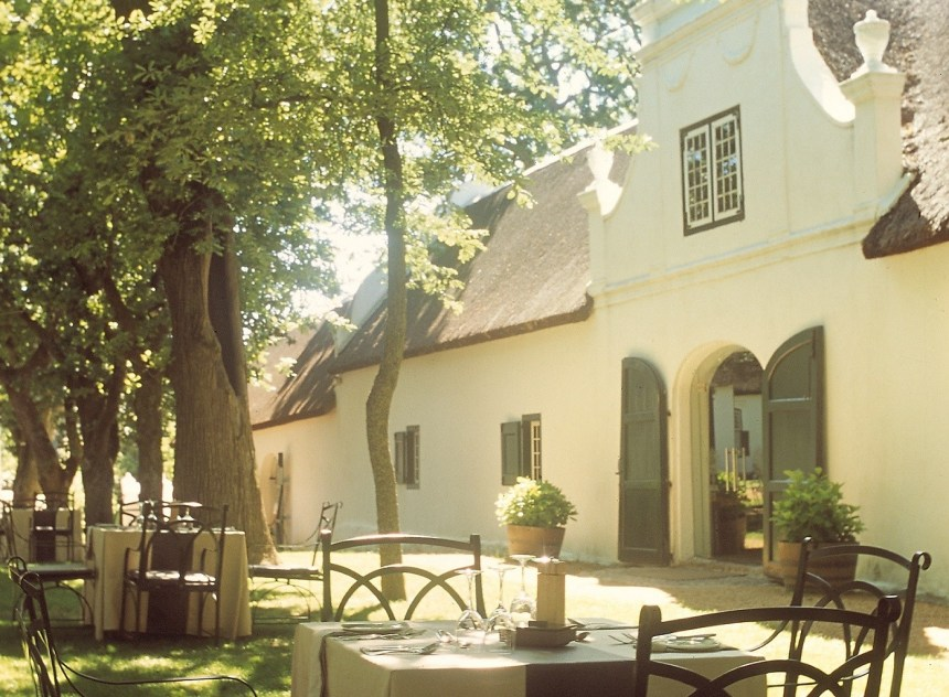 Boschendal - Restaurant outside hi-res (smaller)
