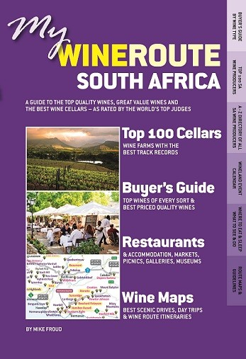 My WineRoute -- Front Cover, Top Wine SA