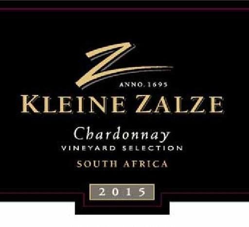 Kleine Zalze Vineyard Selection Chardonnay 2015