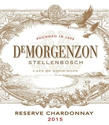 De Morgenzon Reserve Chardonnay 2015