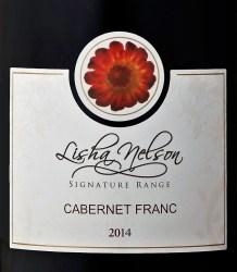 Lisha Nelson Cabernet Franc 2014