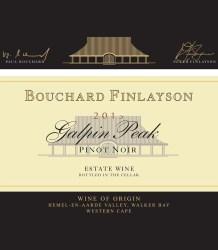 Bouchard Finlayson Galpin Peak Pinot Noir 2015