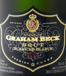 Graham Beck Brut Blanc de Blancs 2012