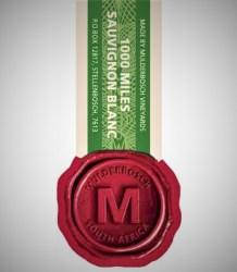 Mulderbosch 1000 Miles Sauvignon Blanc 2015