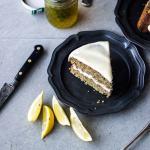 Wholegrain Lemon Poppy Seed Layer Cake