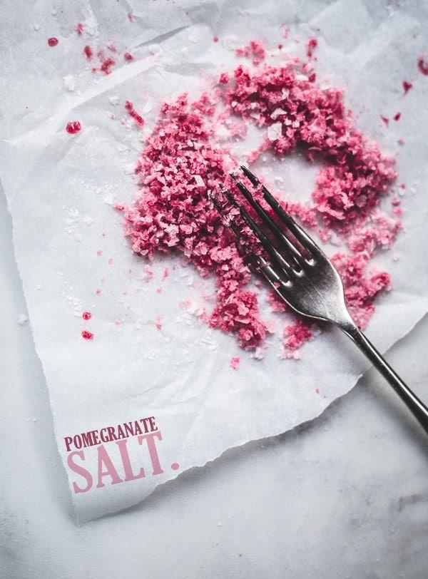 Homemade Pomegranate Salt