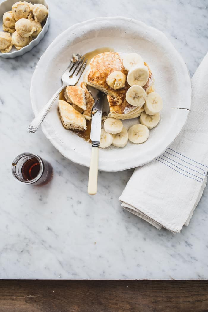 Ricotta Hotcakes with Honeycomb Butter (Granger & Co. Style)