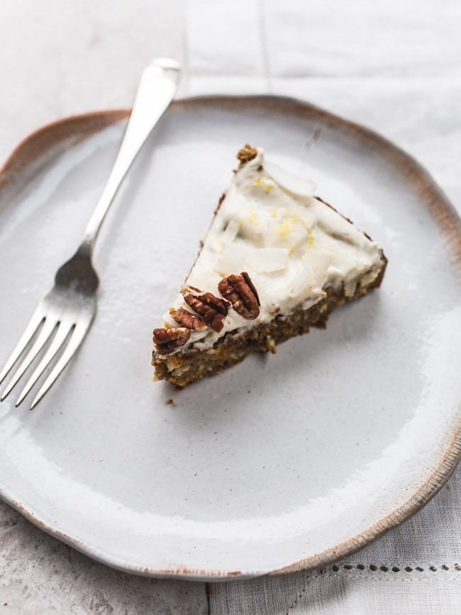 Vegan Carrot Cake Recipe With Pineapple And Coconut