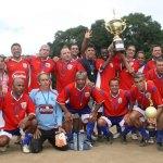 Bavet, campeão da Copa Caem de Futebol Amador, categoria Super Master