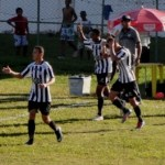 Nem marcou o primeiro gol da tarde: 'um sentimento que não tem como explicar' (Foto: Assessoria do Tupi)