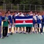 Atletas de JF honraram a bandeira da cidade nos Jemg (Foto: Jarbas Duque)