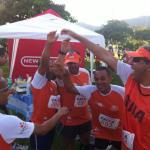 Atletas do Visão no Esporte comemoram os resultados obtidos (Foto: Divulgação)