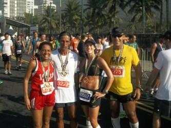 Juiz-foranos disputam meia maratona no Rio de Janeiro