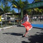 Eberth Silvério cruzou a linha de chegada com 21:46.8