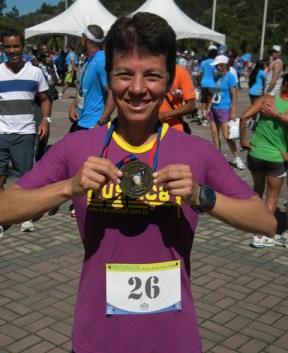 Zirlene dos Santos, campeã geral feminino