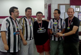 Tupi heptacampeão brasileiro no futebol de mesa