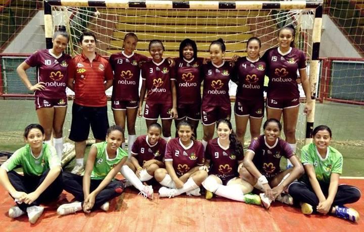 Equipe vice-campeã do Brasileiro Escolar em Guarapari (ES)