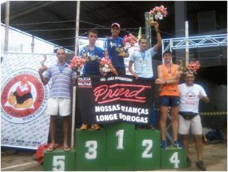 Jocemar e Mariângela vencem 2ª Meia Maratona de Rio Novo