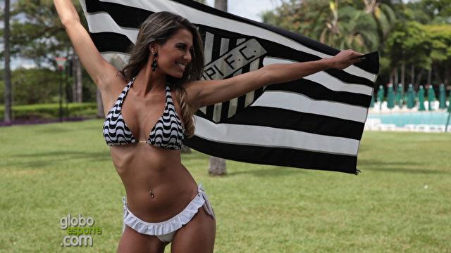 Rayani Marques é a candidata do Tupi ao posto de Musa do Campeonato Mineiro 2014. Votação foi aberta nesta sexta-feira